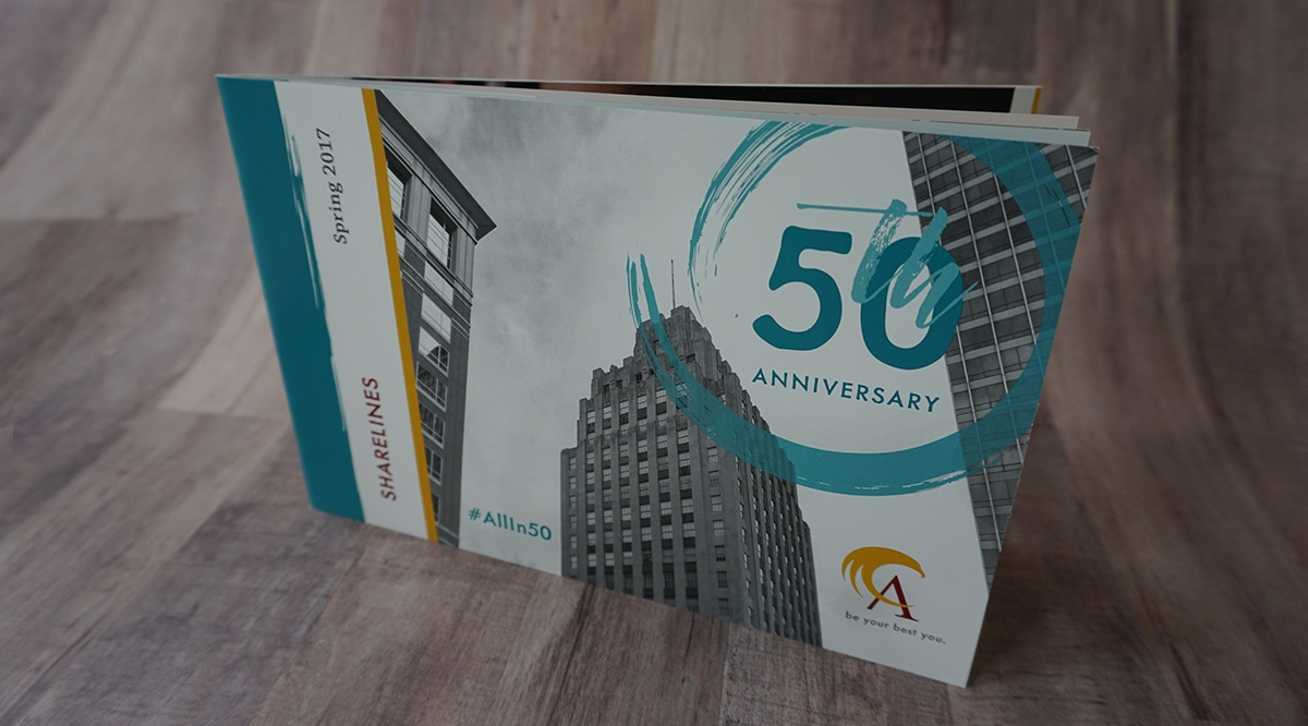 50 Years Sharelines Newsletter