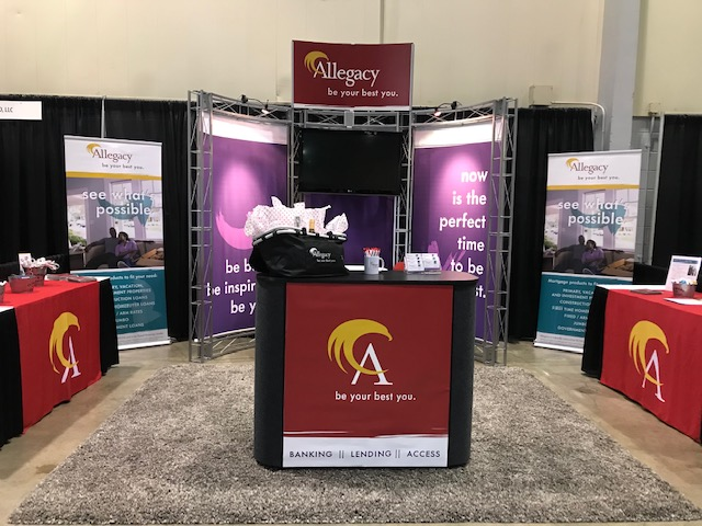 Branded Tradeshow Booth
