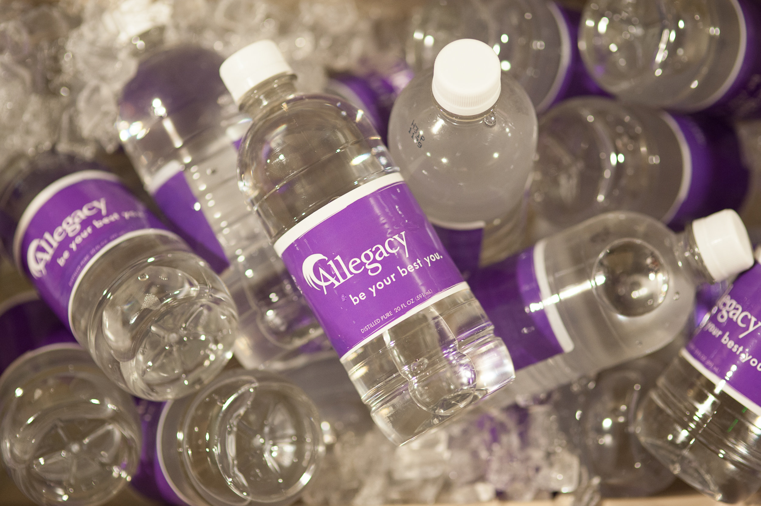 Branded Water Bottles for All Staff Event