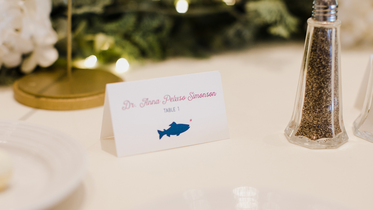 Anna and Andy Place Card