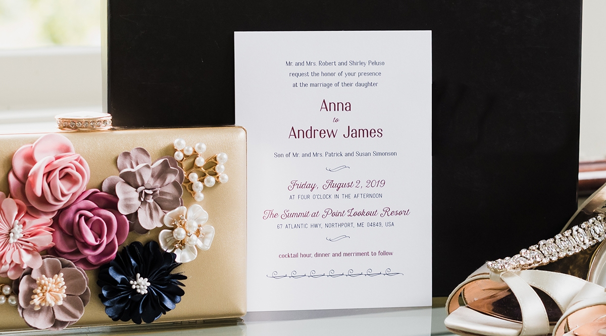 Anna and Andy invite