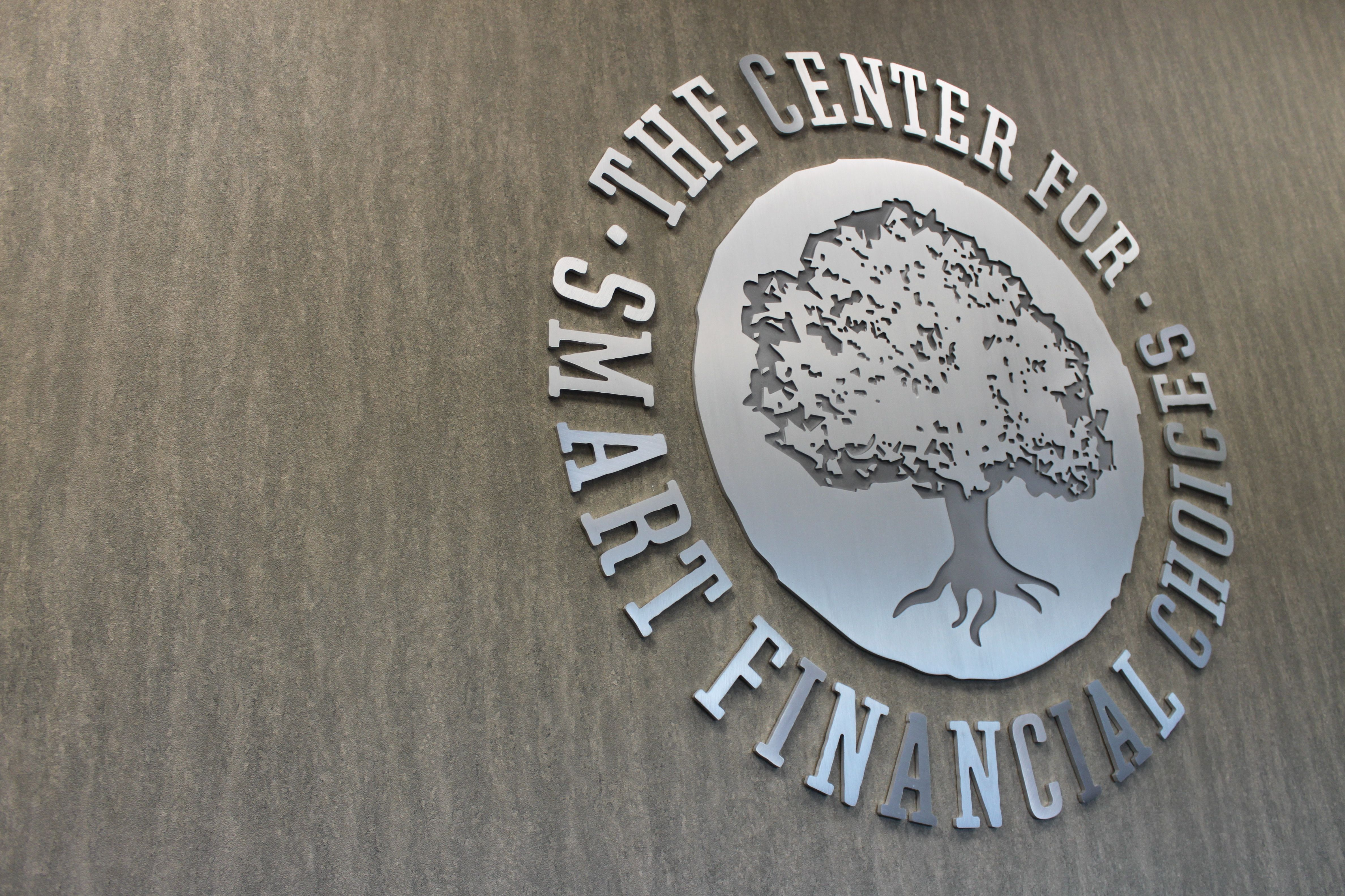 Center for Smart Financial Choices HQ Signage