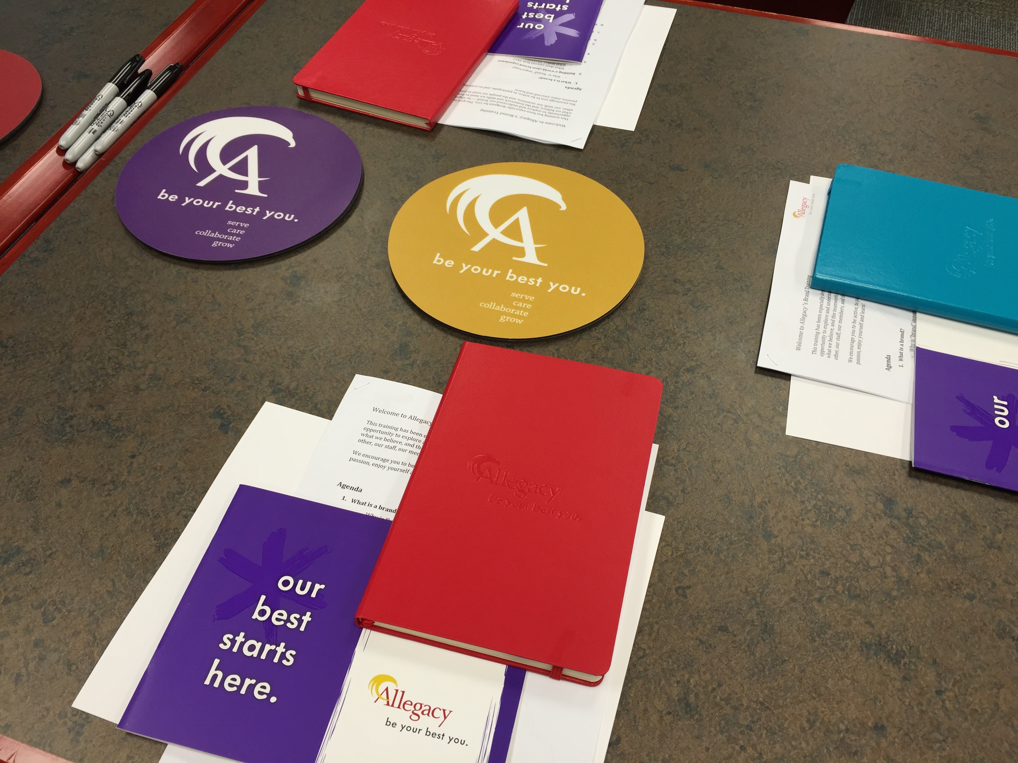 Branded Collateral and Giveaways