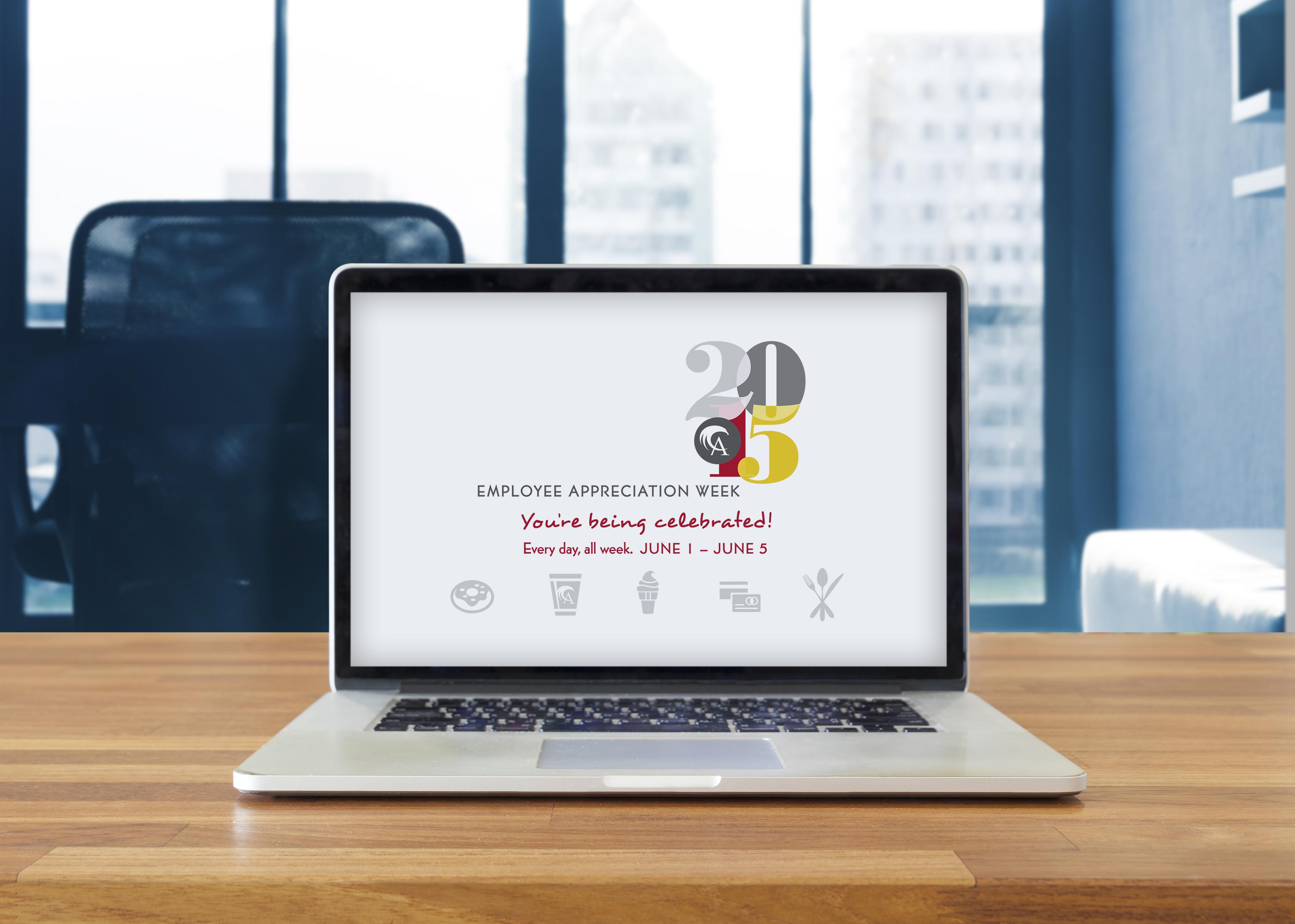 Employee Appreciation Week Desktop Graphic