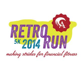 Retro Run Primary Logo